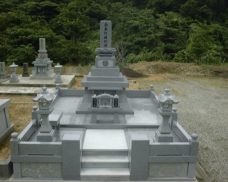 弊社建立の基本的なお墓の形(なし)