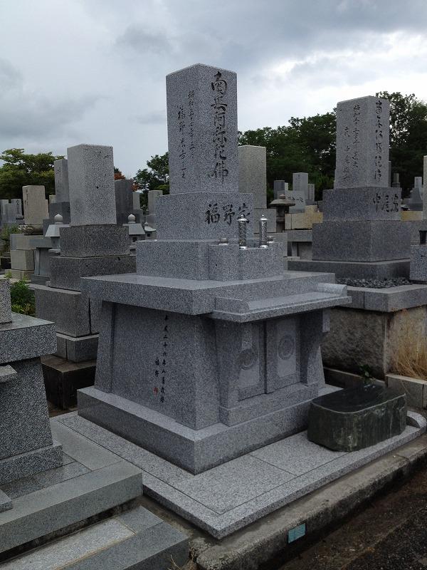 墓石リフォーム(After)