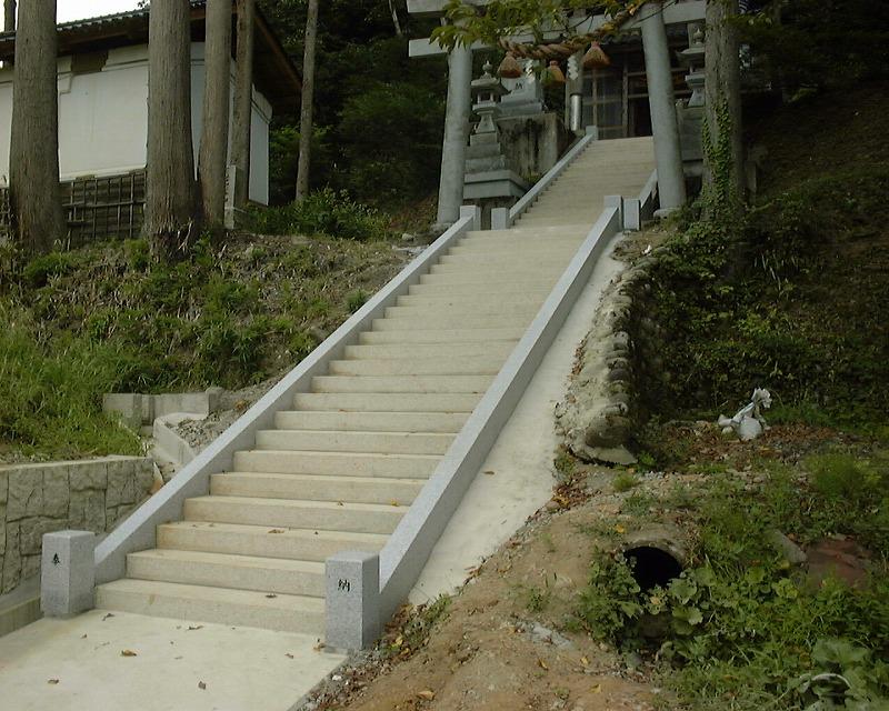 階段 参道(なし)